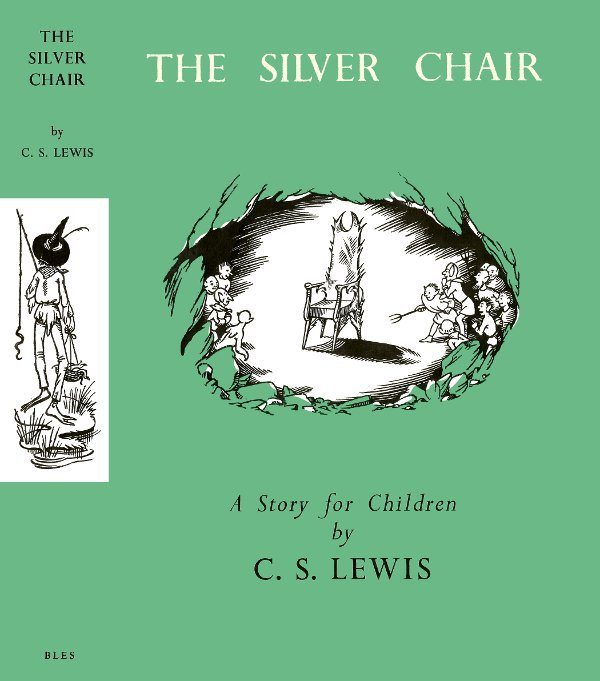 Pauline baynes the silver chair book covers